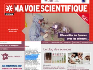 Orientation : Ma voie scientifique